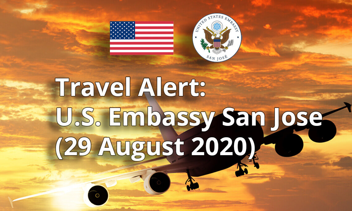 Travel Alert Updated Information On September Covid 19 Restrictions And Entry Requirements For U S Citizens U S Embassy In Costa Rica