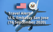 Travel Alert: Information on September COVID-19 Restrictions and Entry Requirements for U.S. Citizens