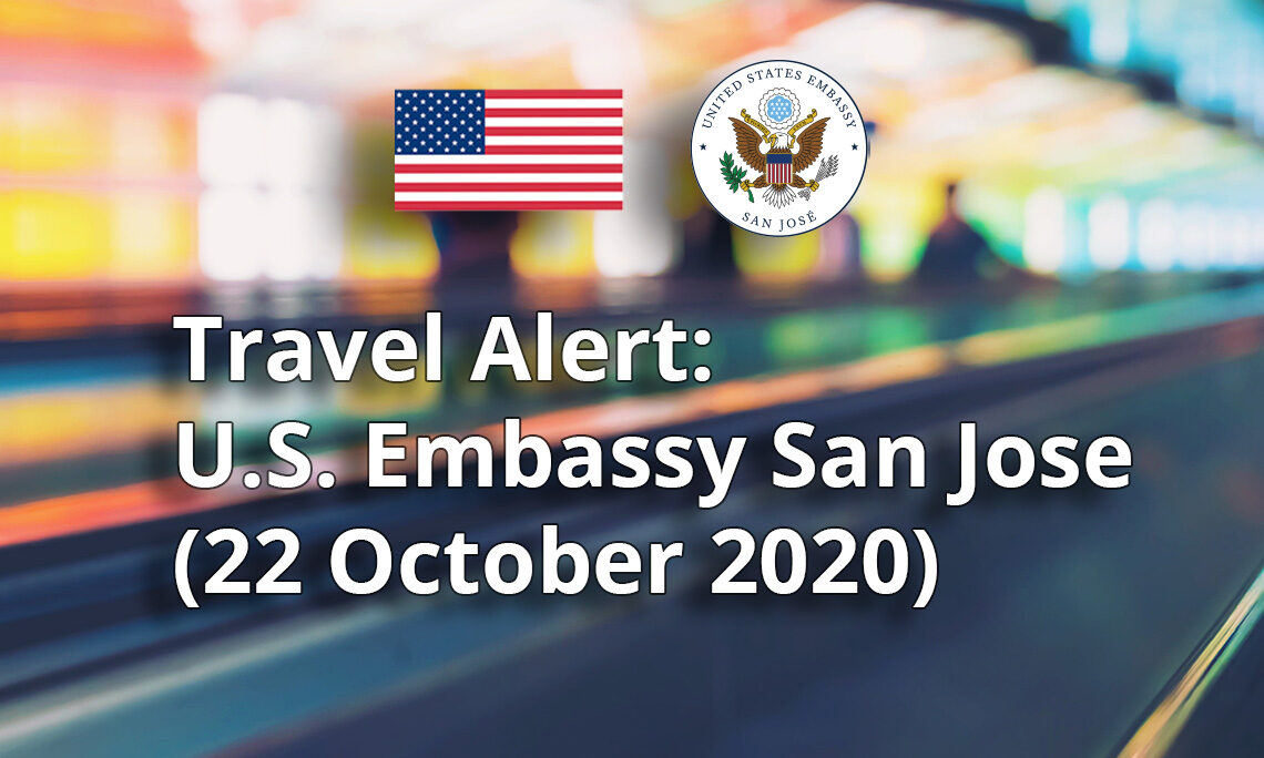Travel Alert Updated Information On October Covid 19 Restrictions And Entry Requirements For U S Citizens U S Embassy In Costa Rica