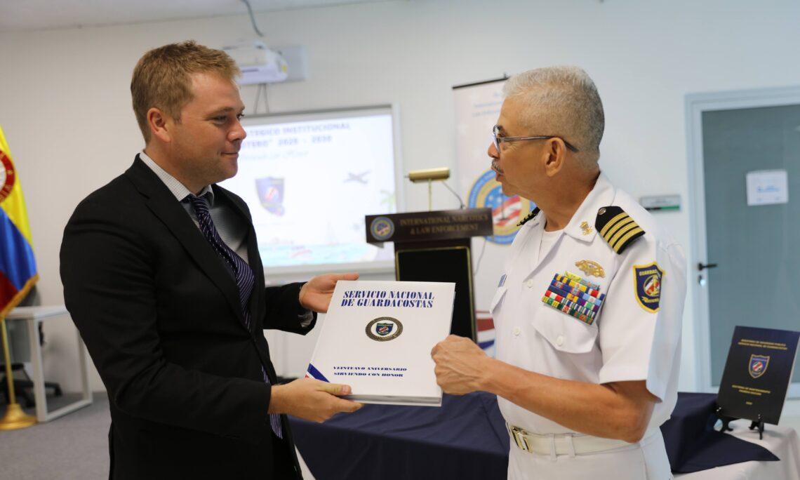The United States Celebrates Costa Rica's Coast Guard 20th Anniversary