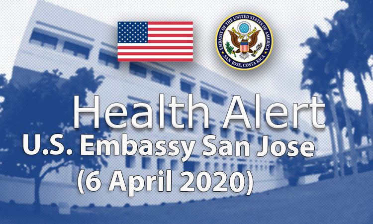 Health Alert - 6 april 2020