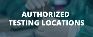 Authorized Testing Locations
