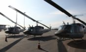Four Helicopters Donated by the U.S. Government Are Now Operational