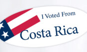 I voted from Costa Rica