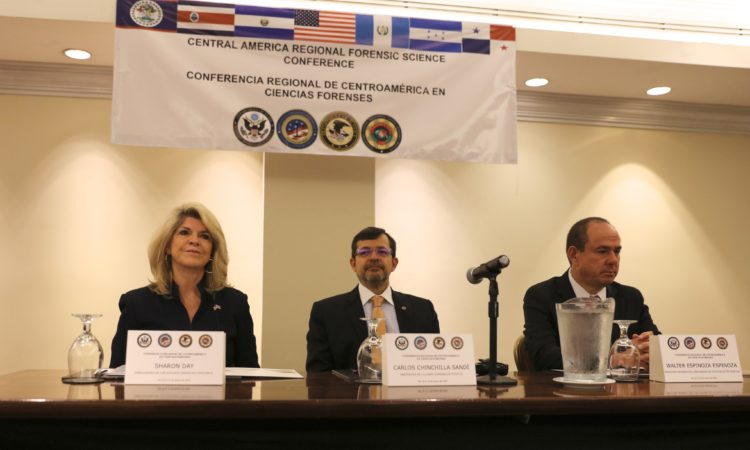 first Central America Regional Forensic Conference