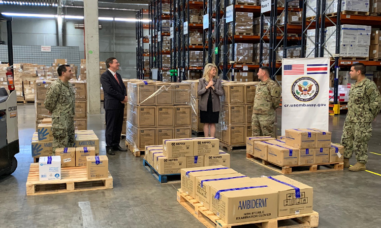 U.S. Embassy Donates Essential Equipment to Costa Rican CCSS
