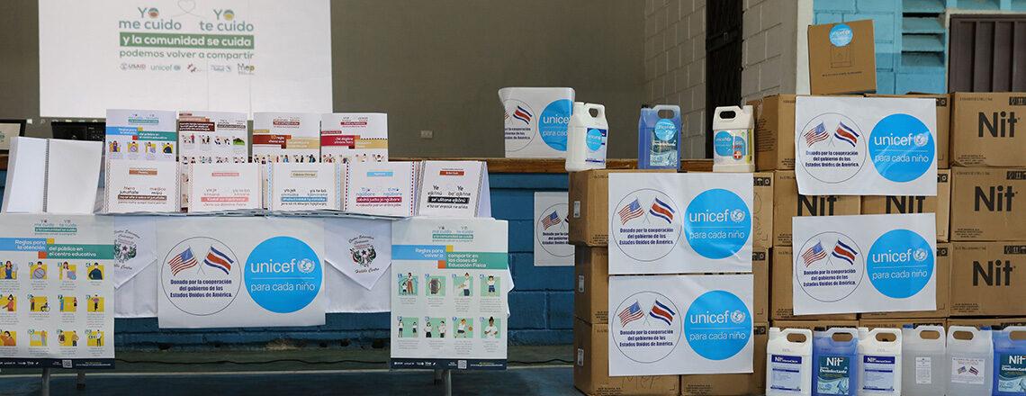 Distribución de suministros sanitarios facilitó regreso a clases de más 250mil estudiantes