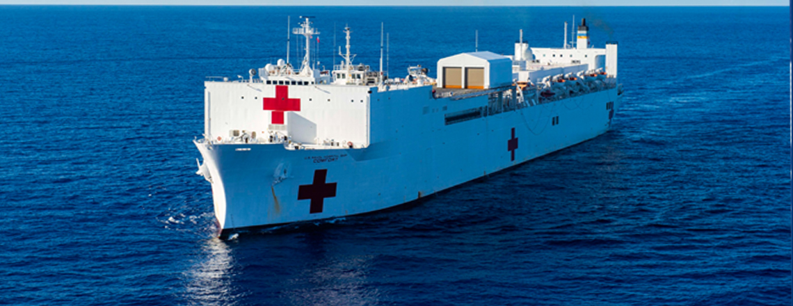 Comfort hospital ship will come to Costa Rica
