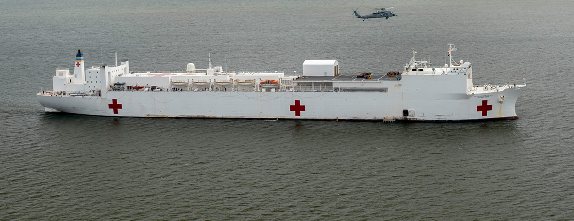 News Release: USNS Comfort Mission Stops Announced