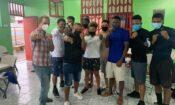 Club de boxeo se inaugura en renovada Casita de Prevención de Cieneguita