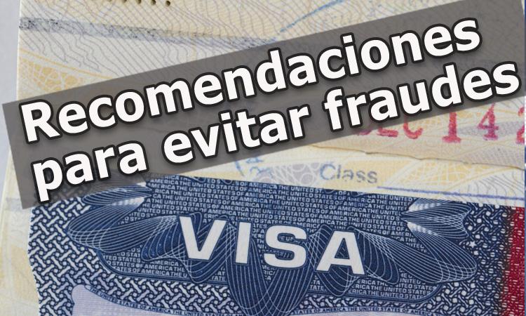 Recomendaciones para evitar fraudes