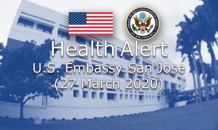HealthAlert – U.S. Embassy San Jose