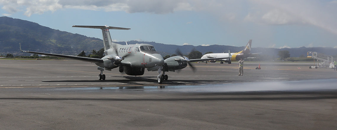 New Plane Reinforces Costa Rica's Fight against Transnational Crimes
