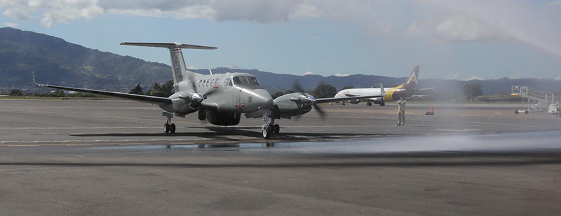 Un nuevo avión al servicio de Costa Rica