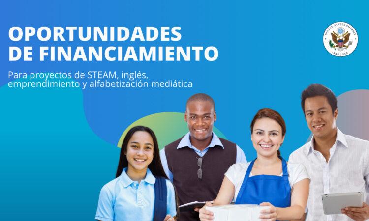 Financiamiento para programas de idioma inglés, STEAM, espíritu empresarial y alfabetización en medios digitales / contrarrestar la desinformación
