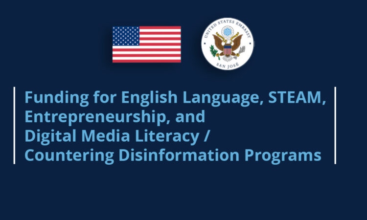 Funding for English Language, STEAM, Entrepreneurship, and Digital Media Literacy/Countering Disinformation Programs