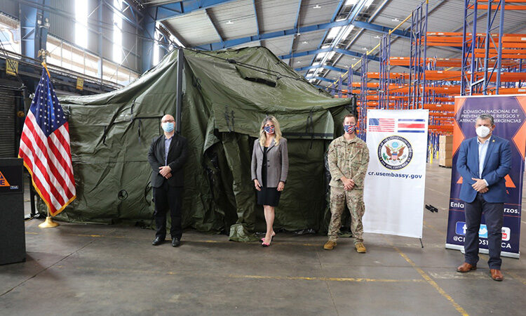 The United States Donates Medical Supplies to Costa Rica