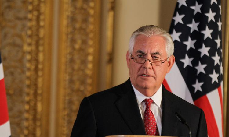 Declaración del Secretario Tillerson