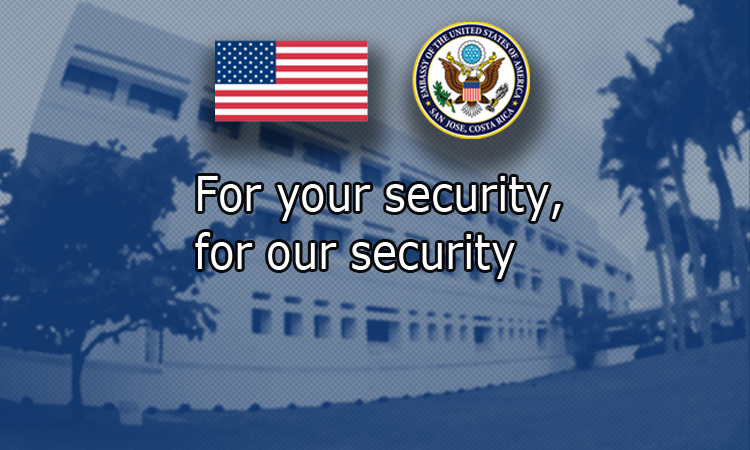 For your security, for our security