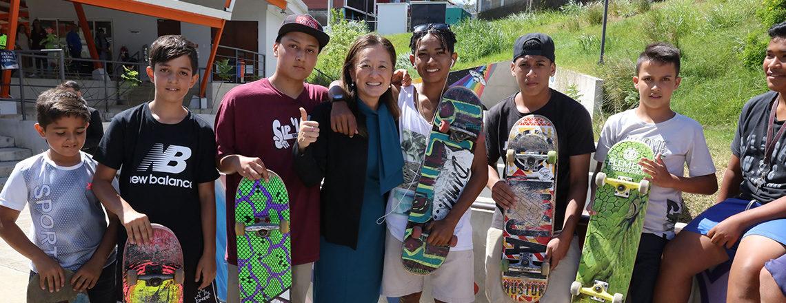 Subsecretaria Julie Chung visita Costa Rica