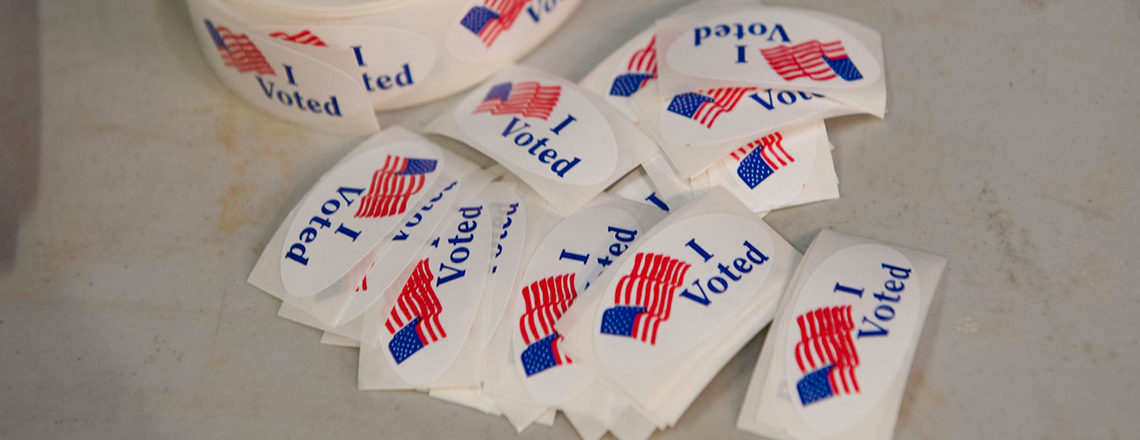 Registering to Vote and submitting a ballot is fast and easy