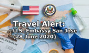 Travel Alert (June 28,2020)