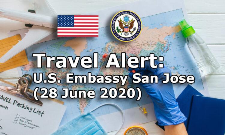 Travel Alert (June 28,2020)