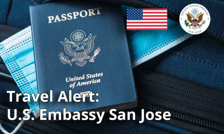 Travel Alert, April 17, 2021