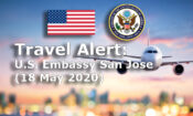 Travel Alert - May 18, 2020