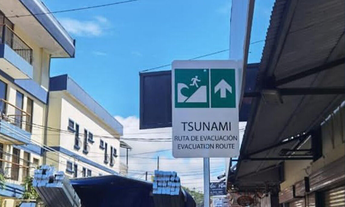 Sirens and Signals in Case of Tsunami