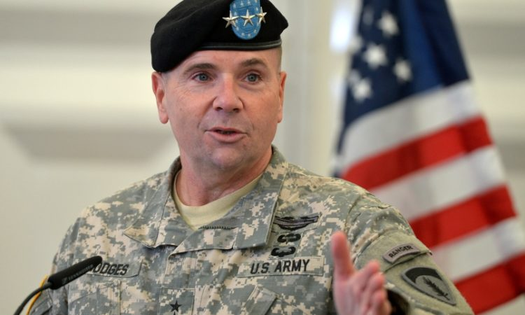 U.S. Army Europe Commanding General, Lt. Gen. Ben Hodges