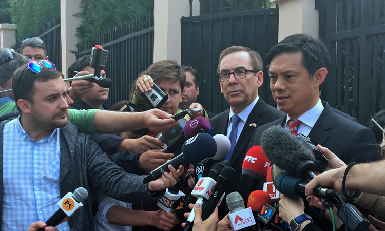 Press Availability with Deputy Assistant Secretary for European and Eurasian Affairs Hoyt Yee May 1, 2017