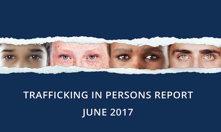 Raporti për tregtinë me njerëz 2017