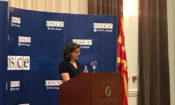 Chargé d'affaires Micaela Schweitzer-Bluhm on Judiciary Day