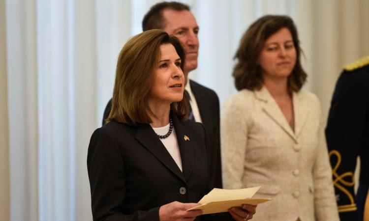 Ambassador Byrnes Delivers Remarks at Credentialing Ceremony