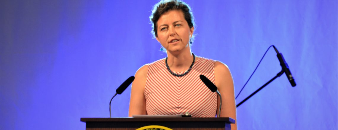 Chargé d'Affaires Micaela Schweitzer-Bluhm Remarks at the July 4th Celebration