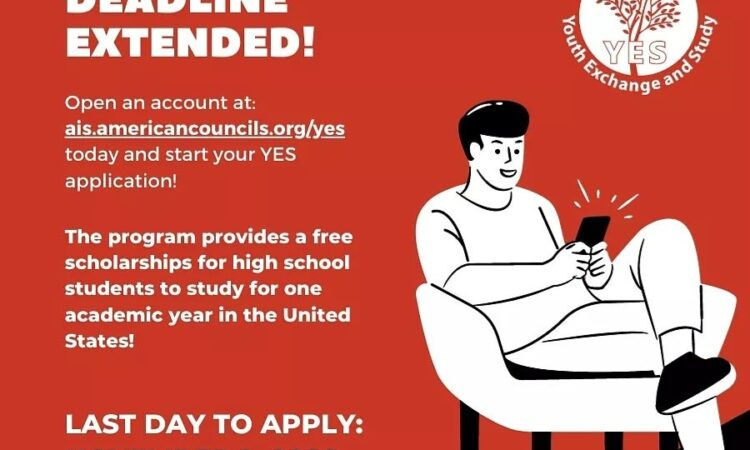 YES Deadline extended to Nov 2 2020