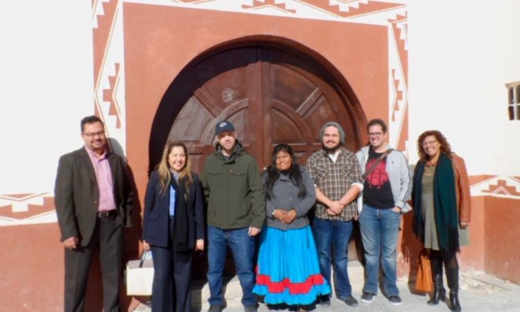 Lee Francis at Colonia Tarahumara in Juarez