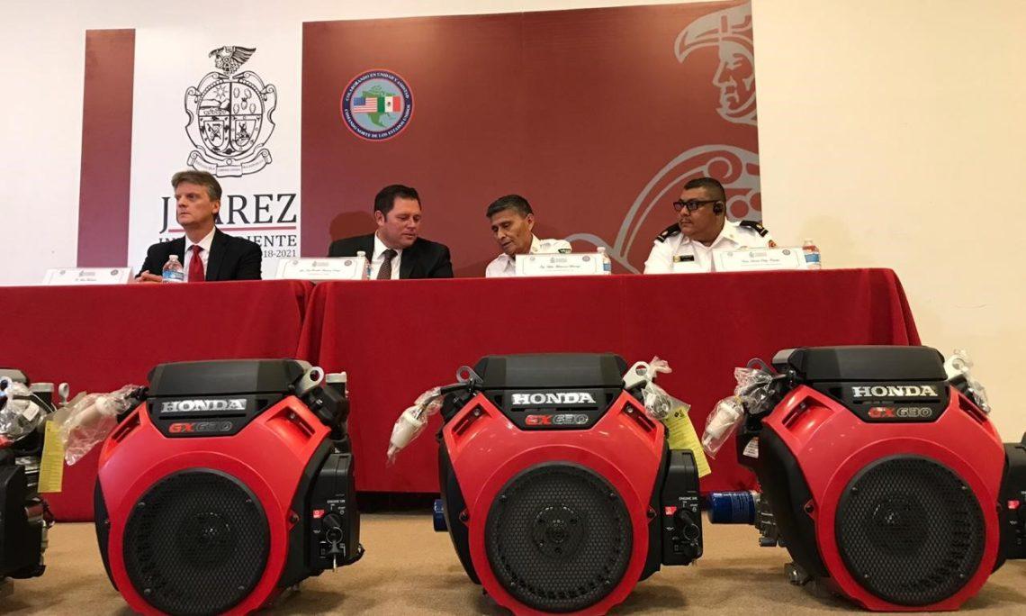 U.S. Consulate donates equipment to Juarez Fire Dept.