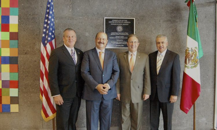 Ambassador Meets Chihuahua Governor and Juarez Mayor