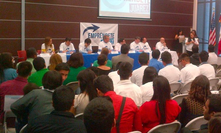 Evento de Empréndete Juárez
