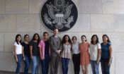 Juarez and Chihuahua Jovenes en Accion teams at the Consulate