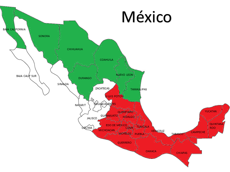 Social Security Us Embassy Consulates In Mexico - Us-consulates-in-mexico-map