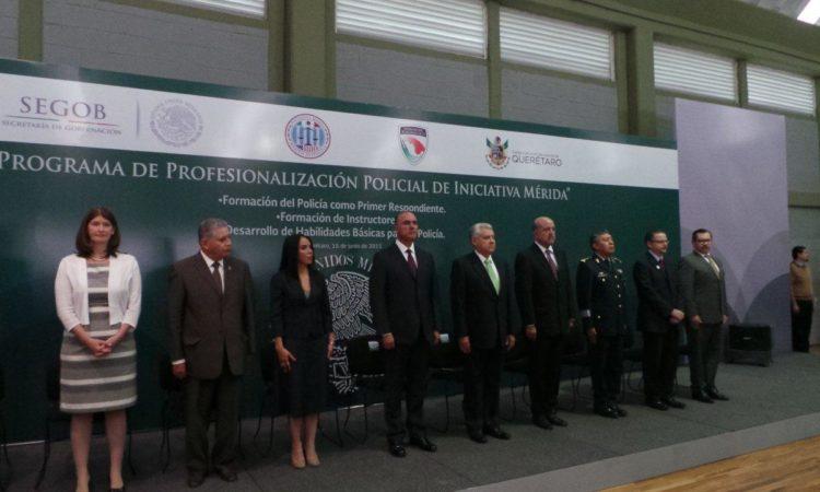 Embajada inaugura Programa Nacional de Profesionalización Policial bajo Iniciativa Mérida