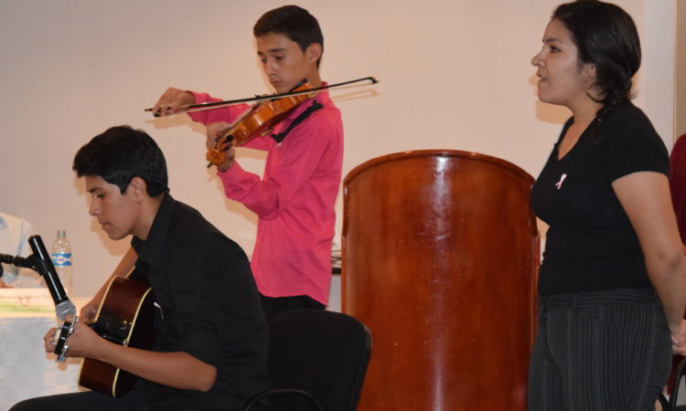 Access Students play music