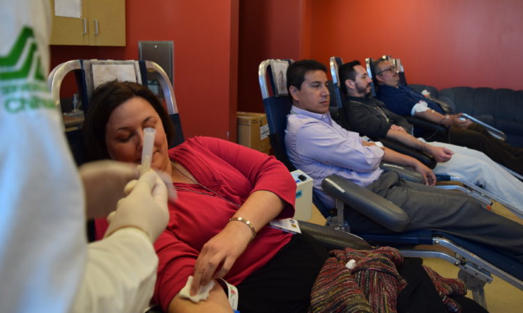 Consulate Employees Donate Blood