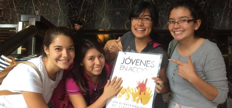 Estudiantes del programa Jóvenes en Acción