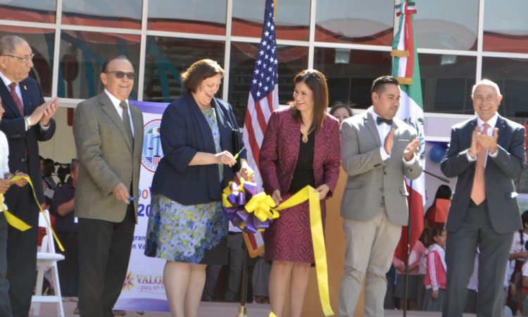 Inaguration of Expo Valores 2016 in Ciudad Juarez