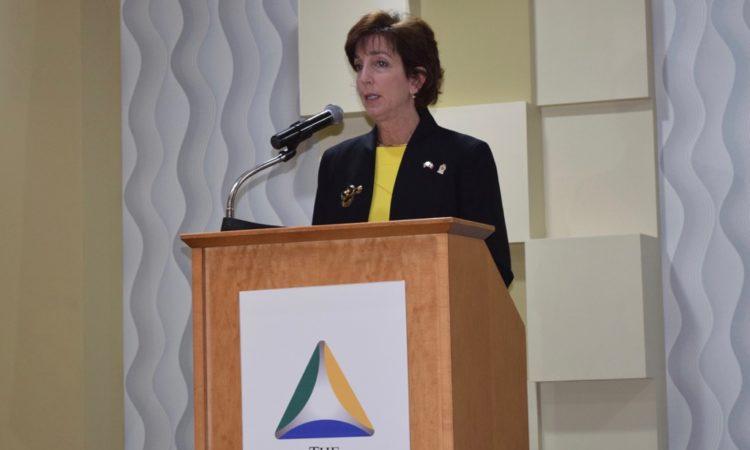 U.S. Ambassador Roberta Jacobson in JuarezU.S. Ambassador Roberta Jacobson in Juarez