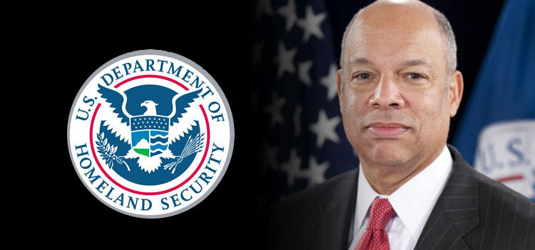 Retrato del secretario Jeh Johnson